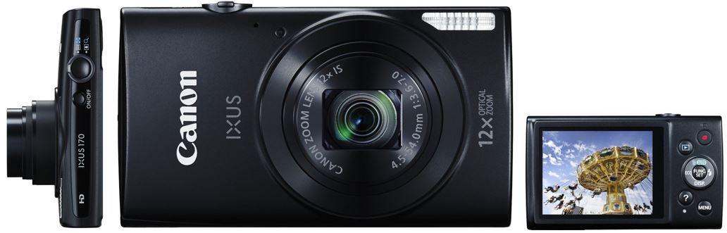 Canon IXUS Canon IXUS 170   20MP Digitalkamera mit 12 fach Zoom für 91,90€