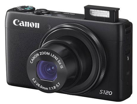 Canon PowerShot S120 Canon PowerShot S120 Kamera mit WLAN für 239€