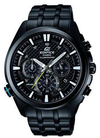 Casio EFR 537BK 1AVEF Herren Armbanduhr in XL Größe aus der Edifice Serie für 138,99€