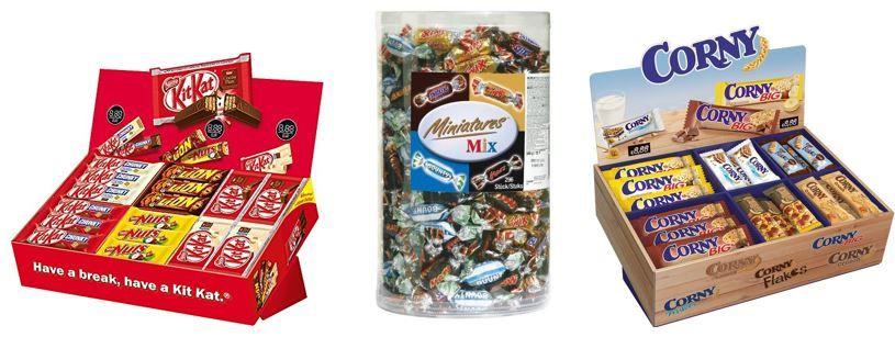 KitKat, Corny & Co. heute günstig als Amazon Tagesangebot
