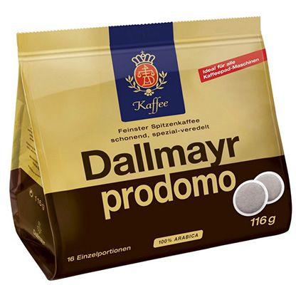 80 Dallmayr Kaffee Pads ab 7,96€ (statt 15,44€)   3 Sorten verfügbar!