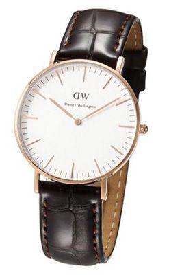 Daniel Wellington 0510DW Damen Armbanduhr für 80€ (statt 108€)