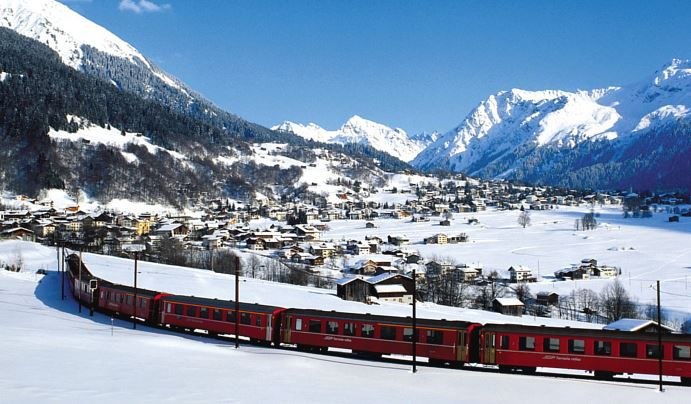 4* Wellness und Aktiv Hotel Alpina Klosters im Skigebiet Davos 2  6 Tage ab 250€p.P.