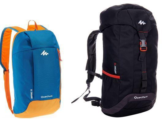 Rucksack Arpenaz   10L blau idealer Ersatz Rucksack ab 1,95€
