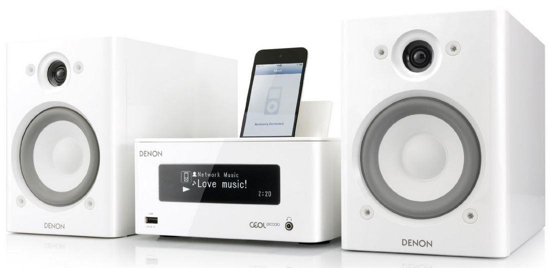 Denon CEOL Piccolo   Netzwerk Kompaktanlage mit iRadio, AirPlay, Spotify, DNLA für 254,38€