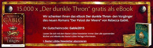 Kostenlos! Der dunkle Thron als eBook gratis downloaden bei Hugendubel