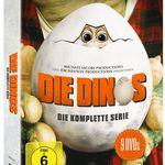 Die Dinos – komplette Serie DVD Box (9 Disk) für 15,99€ (statt 23€)