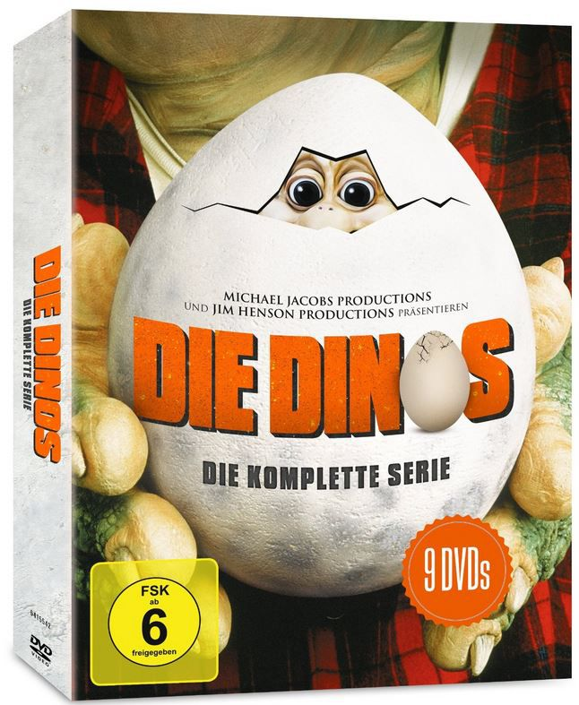 Die Dinos   komplette Serien DVD Box (9 Disk) ab 22€ (statt 26€)