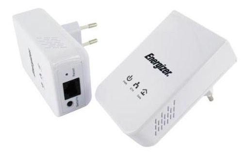 2er Set Energizer Classic Mini Powerline Adapter 500 Mbit/s für 19,90€