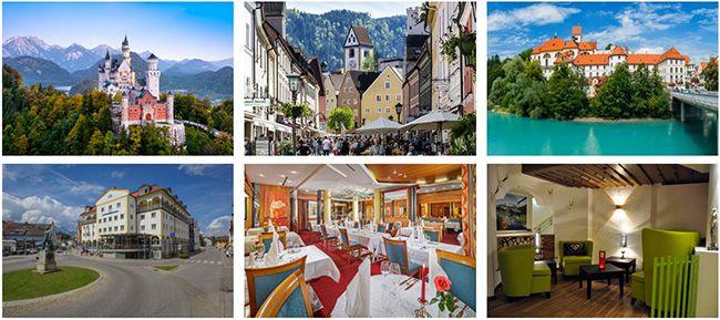 Füssen Urlaub 3 6 Tage Allgäu im 4 Sterne Hotel mit Frühstück, 5 Gänge Menü & Extras ab 129€ p.P.