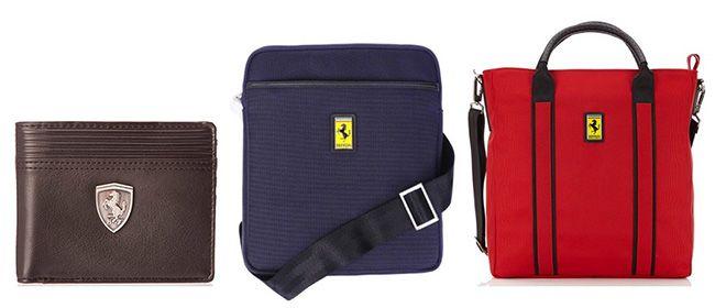 Fehler? Ferrari Taschen günstig bei Amazon   z.B. Umhängetasche für 23,40€