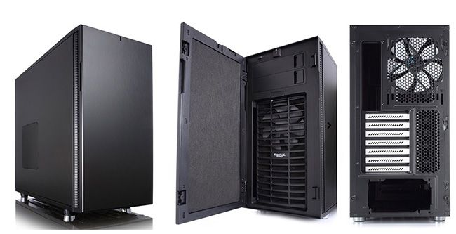 Fractal Design Define R5 Fractal Design Define R5 Miditower Gehäuse für 89,90€ (statt 101€)