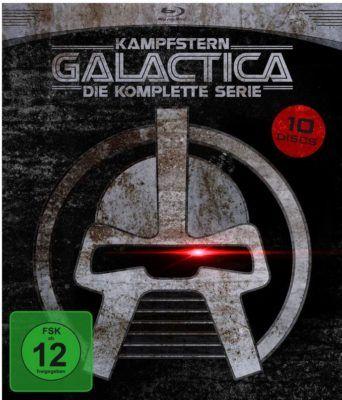 Kampfstern Galactica   Die komplette Serie (+DVD) [9 Blu rays] statt 32€ für 24,97€ [prime]