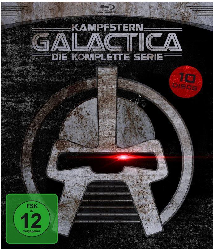 Kampfstern Galactica   Die komplette Serie (+DVD) [9 Blu rays] statt 47€ für 26,97€