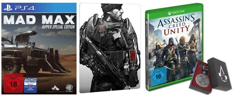 Amazon 3 für 2 Sparaktion: 3 Games kaufen, nur 2 zahlen