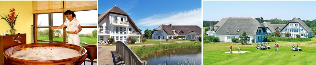 Golfhotel Spa Balmer See Usedom 2 4 Nächte mit HP + Extras ab 105€ p.P.