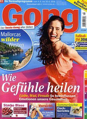 Gong  Jahresabo Gong mit bis zu 5,80€ Gewinn (statt 109,20€)