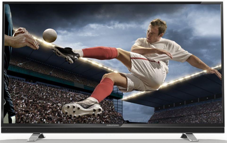 Grundig 55 VLE 8570   55 Zoll 3D Cinema Smart TV mit PVR und triple Tuner für 579€