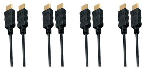 5er Pack 1,5m HDMI High Speed Kabel für 9,65€