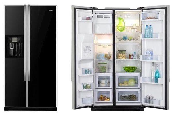 Side By Side Kühlschrank Kaufen : Haier hrf 663 cjb side by side kühlschrank für 738 90u20ac statt 1.289u20ac
