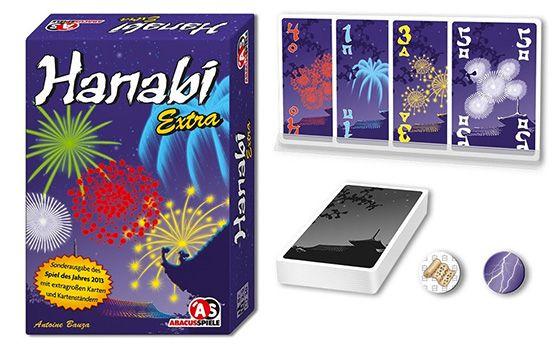 Abacusspiele Hanabi Extra für 2,85€ (statt 18€)   Plus Produkt!