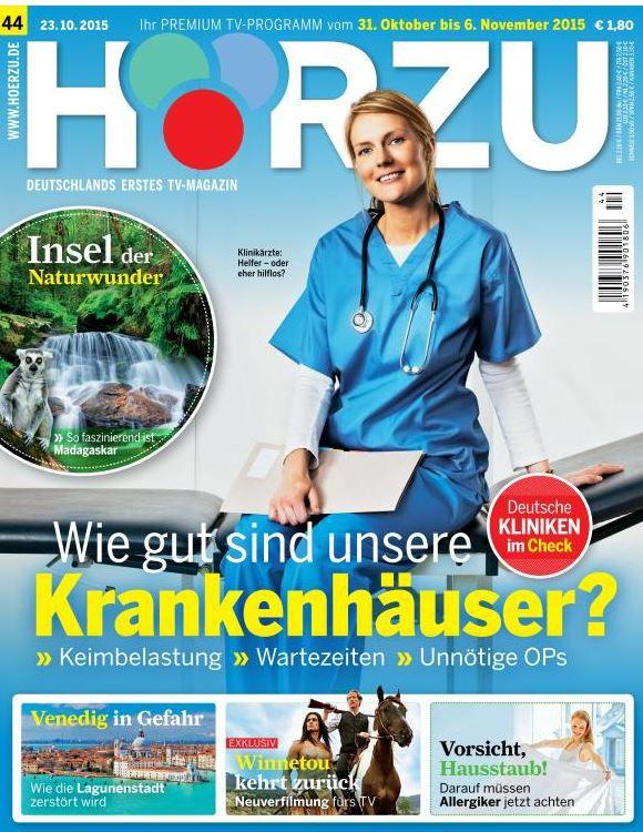 HÖRZU   TV Zeitschrift im Halbjahresabonnement statt 53€ für 0,50€   Fast kostenlos!