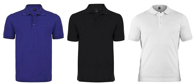 Hugo Boss Polohemden für je 29,99€   verschiedene Farben!