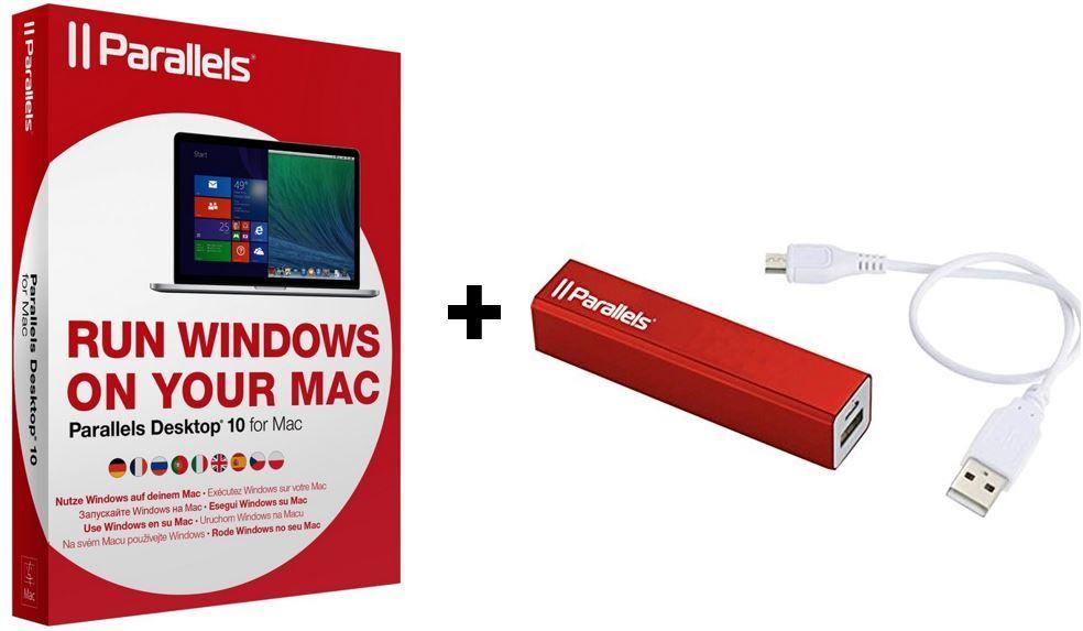Parallels Desktop 11 für Mac + 2.200mAh Powerbank für 48,95€