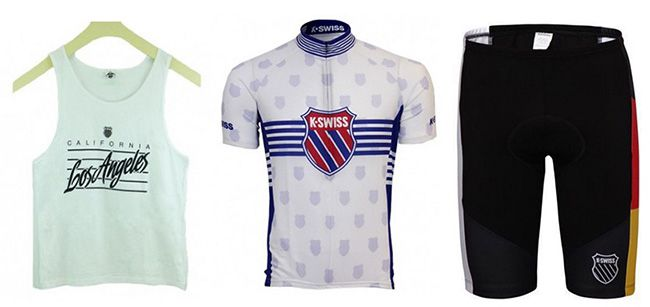 K Swiss Sportkleidung K Swiss Sportkleidung ab 1,99€   z.B. Tanktop oder Radlerhose