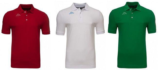 Kappa Herren Poloshirts Kappa Herren Poloshirts in 3 Farben für je 5,99€   nur in L, XL und XXL!