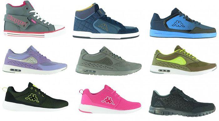 Kappa Sneaker1 Viele verschiedene Kappa Sneaker für je 9,99€ (statt 28€)