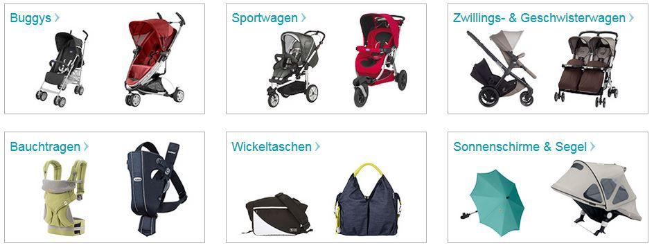 Baby Markt mit 11% Rabatt auf Kinderwagen, Wickeltaschen und mehr ... + 50% SALE