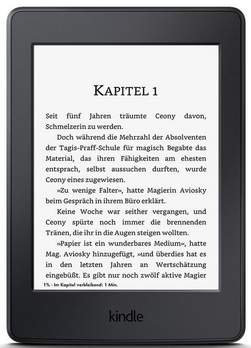 Kindle Paperwhite   6 Zoll ebook reader mit 20€ Rabatt für 99,99€
