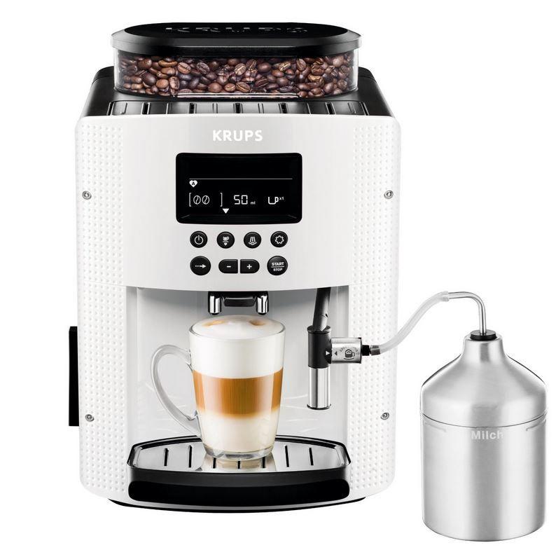 Krups Vollautomat KRUPS EA 8161  Kaffeevollautomat (1,8 l, 15 Bar, LC Display, AutoCappuccino System) statt 370€ für 269€