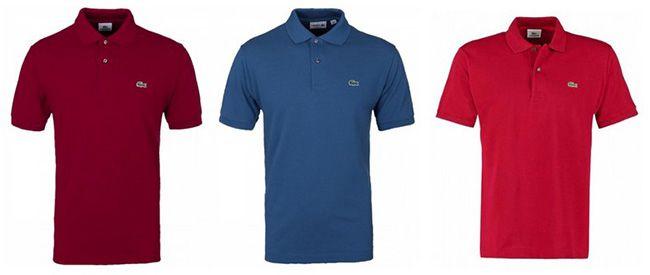 Lacoste L1212 Poloshirt Lacoste L1212 Poloshirt in verschiedenen Farben für je 35,20€