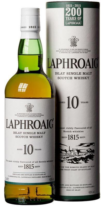 Laphroaig 10 Jahre Islay Single Malt Scotch Whisky für 25,99€