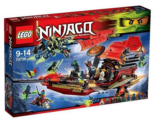 Lego 70738 Der letzte Flug des Ninja Flugseglers für 79,98€ (statt 95€)