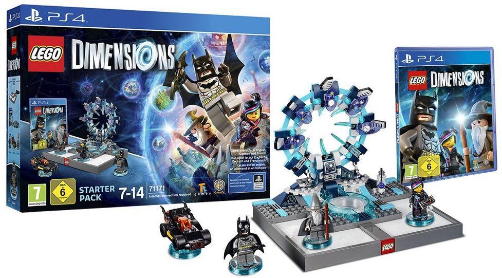 Lego PS4 LEGO Dimensions   Starter Pack ab 38€ (statt ~55€)