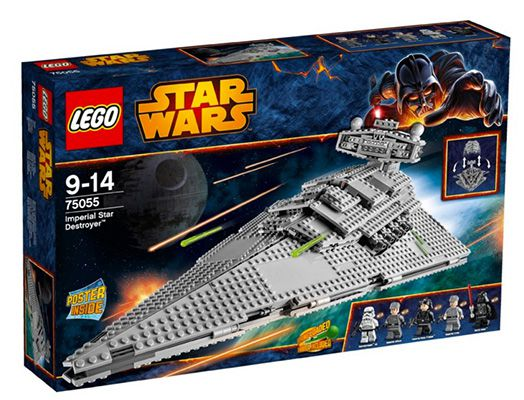Lego Star Wars Sternenzerstörer Lego Star Wars Sternenzerstörer für 89,98€ (statt 114€)
