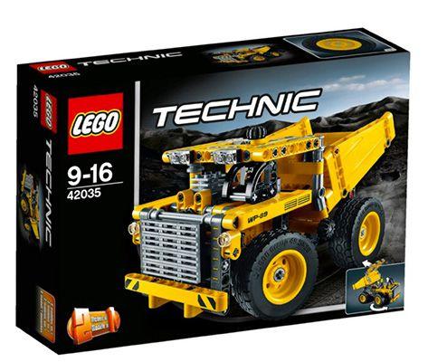 Lego Technic 42035 Muldenkipper ab 17,99€