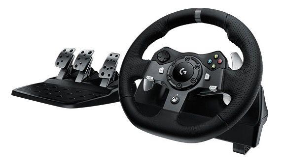 Logitech G920 Driving Force Xbox One & PC Rennlenkrad für 199€ (statt 222€)