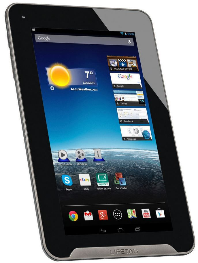 MEDION LIFETAB E7312 MD 98488   7 Zoll Android 4.2 Tablet für 49,99€
