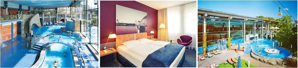 Mercure Hotel Severinshof Köln City 4* Mercure Hotel Severinshof Köln City + Claudius Therme p.P. ab 75€