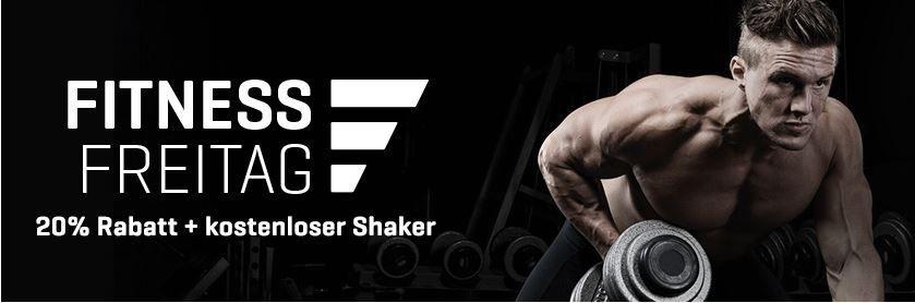 Myprotein Rabatt MYPROTEIN Fitness Freitag   20% Rabatt auf die 200 Bestseller Artikel + gratis Smartshake Shaker ab 25€ MBW
