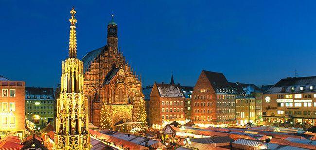 Nürnberger Christkindlesmarkt mit 2 3 Übernachtung im 4 Sterne Hotel und Frühstück ab 89€ p.P.