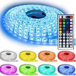 NINETEC Flash60 – 5m RGB LED Strip mit Fernbedienung & Netzteil für 9,79€ (statt 28€)