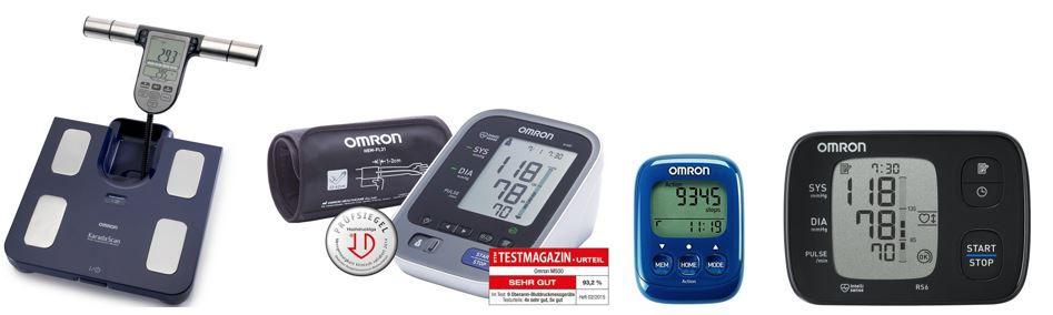 Omron ausgewählte Gesundheitsartikel mit bis zu 25€ als Amazon Tagesangebot!