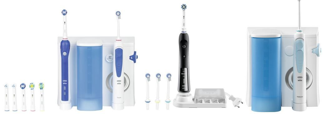 Bis zu 63% auf ausgewählte Oral B Produkte   Oral B Professional Care Center 3000 eZahnbürste & Munddusche für 89,99€
