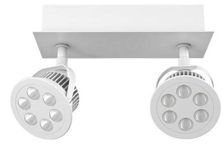 Osram Led Spot  OSRAM EFFACTIVE   2 x 4,5 Watt LED Spot für 29,99€