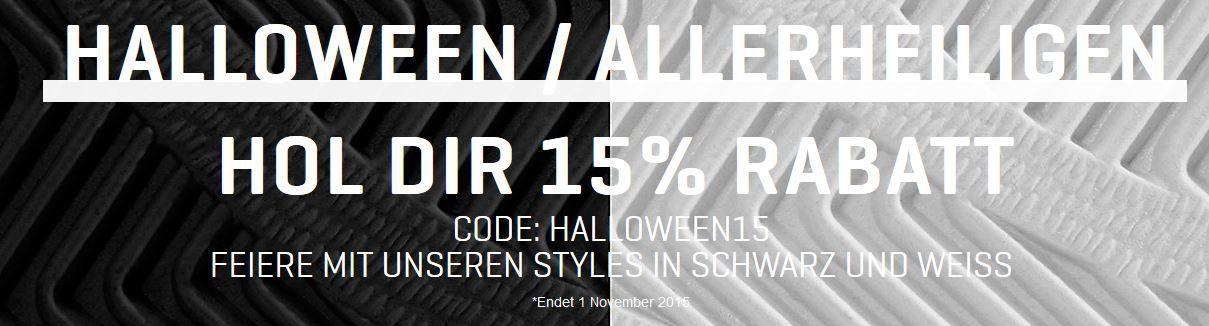 Puma mit 15% extra Halloween Rabatt auf Styles in Schwarz oder Weiss